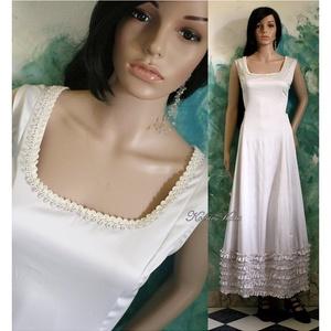 MILENA - romantikus design-ruha  - Meska.hu