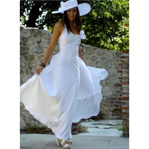 M E N Y A S S Z O N Y I .....   TINA - menyasszonyi ruha , Esküvő, Táska, Divat & Szépség, Menyasszonyi ruha, Ruha, divat,   Modern fazonú, mégis romantikus, egyszerű vonalú, egy darabból szabott béleletlen menyasszonyi ruh..., Meska