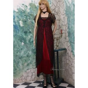 CATHY - exkluzív selyemruha csipkekabátkával - ruha & divat - női ruha - alkalmi ruha & estélyi ruha - Meska.hu