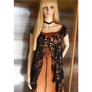 KIARA - exkluzív designruha muszlin-kabátkával, Táska, Divat & Szépség, Esküvő, Női ruha, Ruha, divat, Estélyi ruha, Varrás, Különleges, szecessziós-stílusú selyem + muszlin öltözetem a haute-couture szerelmeseinek ajánlom.\n\n..., Meska