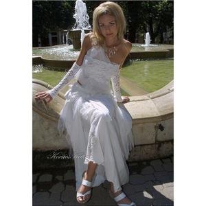 MARIETTA - menyasszonyi ruha (Aranybrokat) - Meska.hu