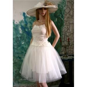 NYINOCSKA - menyasszonyi ruha, Esküvő, Táska, Divat & Szépség, Menyasszonyi ruha, Esküvői ruha, Ruha, divat, Csupa tüll és finom csipke kétrészes szettem a szuper-nőcis-romantikus menyasszonyoknak ajánlom.   S..., Meska