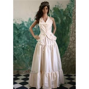 ADELE - menyasszonyi ruha (Aranybrokat) - Meska.hu