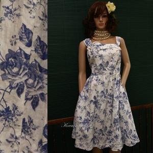 MILLY -lenvászon design-ruha XL, Ruha & Divat, Ruha, Női ruha, Varrás, Meska