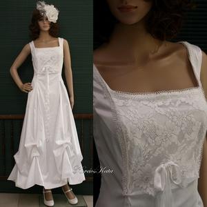LETÍCIA - menyasszonyi ruha (Aranybrokat) - Meska.hu
