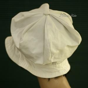 REBEKA - romantikus nyári bucket kalap  (Aranybrokat) - Meska.hu