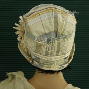 FREIA cloche - design flapper-kalap (Aranybrokat) - Meska.hu