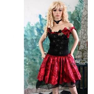MISS POMPADOUR - báli ruha , menyecske ruha, Menyecske ruha, Ruha, Esküvő, Varrás, Különleges anyagokból készült rokokós ruha az egyéni megjelenéshez.\n\nMérete S-M\nEgyedi darab!\nVásárl..., Meska