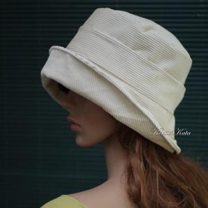 GINA - elegáns kézműves kalap selyemvirággal (Aranybrokat) - Meska.hu