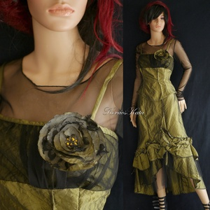 KAROLA - romantikus kétrészes báli-ruha, Ruha & Divat, Női ruha, Alkalmi ruha & Estélyi ruha, Varrás, Meska