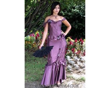 LUDMILLA - romantikus exkluzív báli-ruha, alternatív menyasszonyi ruha, Ruha & Divat, Női ruha, Alkalmi ruha & Estélyi ruha, Varrás, Meska