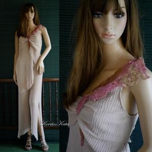 KREPP-SZETT - kétrészes design ruha S, Ruha & Divat, Női ruha, Alkalmi ruha & Estélyi ruha, Varrás, Meska