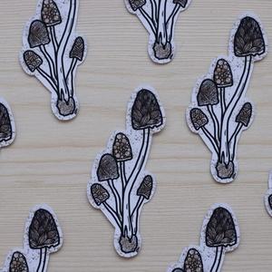 Matrica, Táska, Divat & Szépség, Otthon & lakás, Képzőművészet, Fotó, grafika, rajz, illusztráció, Papírművészet, Zentangle mintás mini matrica. Saját rajzból készült. \n\nKészült: 90gr-os, matt matrica papírból, ami..., Meska