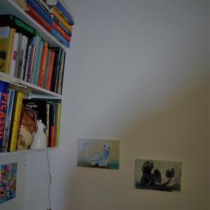 Éjfúria, gyermekszoba dekoráció, mérete: 30x20cm, ingyenes szállítással (Artbuda) - Meska.hu