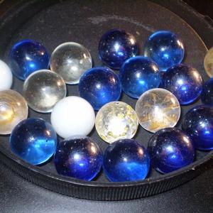 FUSINGOS gömb ÜVEGGOLYÓ vegyes SZINBEN 20 db olcsón, Üveg, Üvegművészet, FUSINGOS gömb ÜVEGGOLYÓ vegyes SZINBEN 20 db olcsón EGYBEN, \nmindegyik hasonló, mivel egyedileg lett..., Meska