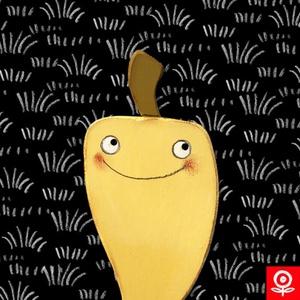 Kert - TV Paprika mágnes, Gyerek & játék, Játék, Fajáték, Készségfejlesztő játék, Mágneses zöldség-gyümölcs. Mérete:  16cm x 8cm Kézzel vágott, mart felülettel. Akrilfestékkel festet..., Meska