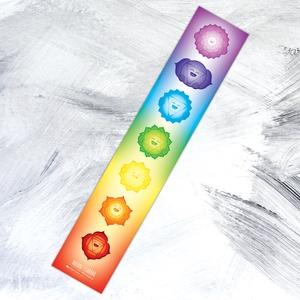Boldog Csakrák - matrica / laptopra / szivárvány színeiben, Otthon & Lakás, Falmatrica & Tapéta, Dekoráció, A Boldog Csakrák a mindennapi mosolyért jöttek napvilágra a spirituális világban tájékozott vagy épp..., Meska