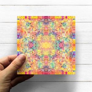 Napfonat Csakra Mandala matrica, Manipura, Otthon & lakás, Dekoráció, Képzőművészet, Fotó, grafika, rajz, illusztráció, Csakra Mandala sorozatomat digitális rajzolással hoztam létre, mely részletesen kidolgozott vonalakb..., Meska