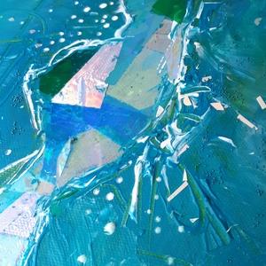 Hologramos Balaton / 58 x 25 cm /
