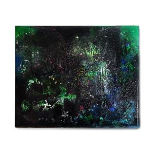 Absztrakt festmény, Művészet, Festmény, Festmény vegyes technika, Festészet, A kép mérete 30 x 25 cm\n\nVászonra készült festmény festékszóró és akril használatával.\n\n, Meska