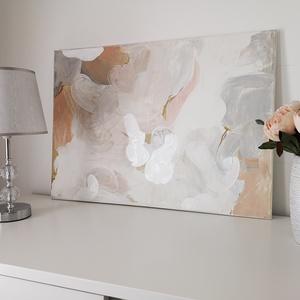 50x70 cm absztrakt alkotás, Művészet, Festmény, Festészet, 50x70 cm\nPrémium festékekkel készült, magas minőséget képviselő absztrakt alkotás.\n\nVegyes technikáv..., Meska