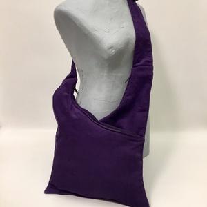 Lilaköd Táska, Vállon átvethető táska, Kézitáska & válltáska, Táska & Tok, Varrás, Három rekeszes táska mérete 45cmx33cm,cipzár hossza 34cm.Állítható pánttal,tépőzárral állítható...., Meska