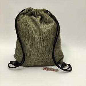 Mák Torna-hátizsák, Táska & Tok, Hátizsák, Hátizsák, Torna-hátizsák méretei: 43cm x 35cm; cipzárral záródó belsőzseb 17cm x 14cm. Dupla zsinór hossza 125..., Meska