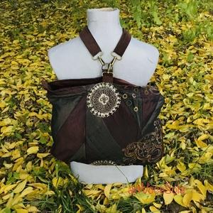 Erdei álmok Hátizsák-táska, Táska & Tok, Variálható táska, Variálható hátizsák-táska mérete : 42cm x 35 cm ,cipzár hossza 34cm,belső zseb 20cm x 19 cm.Állíthat..., Meska
