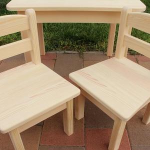 Gyerekasztal gyerekszék gyerek asztal szék nem fiókos  pad sámli hokedli (arvaiz69) - Meska.hu