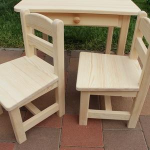 gyerekasztal gyerekszék gyerek asztal szék pad sámli hokedli bölcsődés méret, Gyerek & játék, Gyerekszoba, Gyerekbútor, Famegmunkálás, Mindenmás, A kisbútort megrendelésre készítem.  A bútorra három év garanciát vállalok. Ha kézhezvételkor úgy go..., Meska