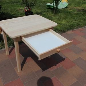 gyerekasztal gyerek asztal szék pad sámli óvodás méret fiókos asztal L  (arvaiz69) - Meska.hu