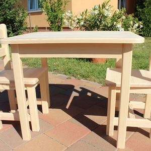 Gyerekasztal gyerekszék gyerek asztal szék pad sámli hokedli nem fiókos asztal  asztal két szék, Gyerek & játék, Gyerekszoba, Gyerekbútor, Famegmunkálás, Mindenmás,  A kisbútorra 3 év teljeskörű garanciát vállalok. Kérésre bölcsődés méretben is eltudom készíteni. A..., Meska