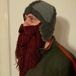 Dwarf sapka, szakállas sapka, hobbit sapka (ateszter) - Meska.hu