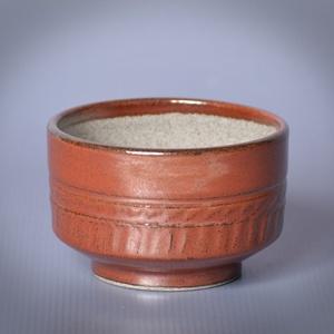 Kerámia  japános teáscsésze (repesztett1), Otthon & lakás, Lakberendezés, Konyhafelszerelés, Bögre, csésze, Kerámia, \n\nSzürke kőagyagból készült, magastűzön (1210 fokon) tömörre égetett csésze.\nA mindennapos használat..., Meska