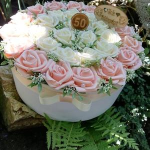 Óriás virágbox (ManoMuhely87) - Meska.hu