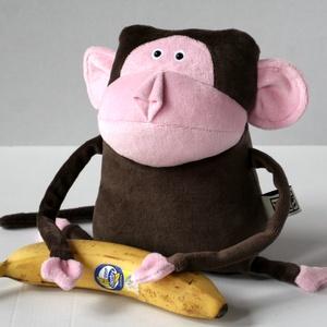 Majom Muma, Tenyérnyi Puha Plüss Bonobo vagy akár Csimpánz, Majom, Plüssállat & Játékfigura, Játék & Gyerek, Baba-és bábkészítés, Varrás, A Mumák apró, puha plüssjószágok. Testük kb. 20 cm magas és 15 centi széles, pont gyerekkézbe való.\n..., Meska
