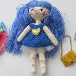 Melissza - amigurumi baba - horgolt baba - öltöztetős baba - játékbaba (Bababolt) - Meska.hu