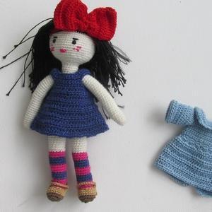 Kiki a kis boszorkány - amigurumi baba - horgolt baba - öltöztetős baba (Bababolt) - Meska.hu