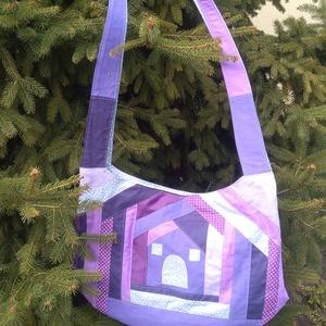 59cf3df57d A lila ötven árnyalata egy falat szürkével szatyor, textil táska, tatyó,  Táska,