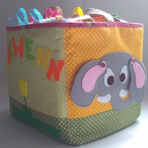Állatos okosdoboz, csendeskönyv lapokból egy személyreszóló dobozban, összeválohgatható játék lapok, Játék & Gyerek, Textilkönyv & Babakönyv, Textilkönyv, babakönyv, ineteraktív foglalakoztató és készségfejlesztő játék, csendeskönyv, filc ját..., Meska