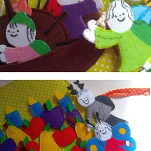 Bogyó és Babóca mesés foglalkoztatós, matatós, csendes könyved, puha könyv emlékbe, babaváró vagy kereszteleőre ajándék , Gyerek & játék, Játék, Készségfejlesztő játék, Játékfigura, Baba játék, Varrás, Baba-és bábkészítés, A te saját mesés foglalkoztatós, matatós, csendes könyved, puha könyv emlékbe, babaváró ajándék - KÉ..., Meska