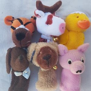 Házi állatok ujjbábok, Játék & Gyerek, Báb készlet, Bábok, Baba-és bábkészítés, Meska