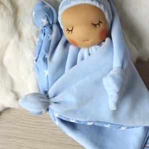 Alvómanó, a legkisebbek alvótársa, Gyerek & játék, Játék, Baba játék, Sokféleképpen nevezik, alvómanó, rongyimanó, csücsökmanó, rongyikendő... A kisbabák első alvótársai...., Meska