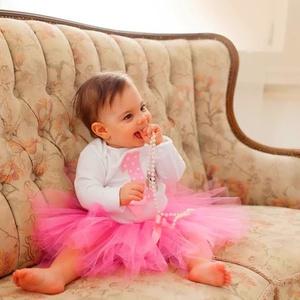 Szülinapi babaruha, tütüs szett, pink muffinos (BabyAngel) - Meska.hu