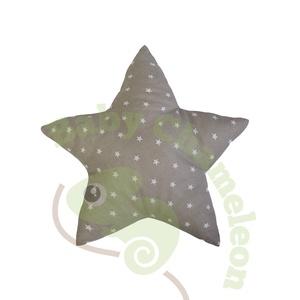 Csillag forma párna, Otthon & Lakás, Párna & Párnahuzat, Lakástextil, A Baby Chameleon csillag formapárna önmagában is egy sztár! Jelenléte a babaszobában nem mindennapi,..., Meska