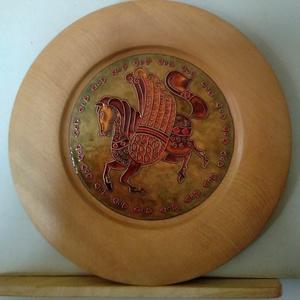 Pegazus , Kép & Falikép, Dekoráció, Otthon & Lakás, Ötvös, Tűzzománc, A mitológia kincsestárából merítve készítettem ezt a szárnyas lovat .Pegazus is tűzzománc képet. Rek..., Meska