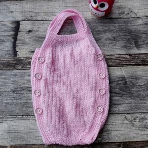 Kézzel kötött baba pulóver! (Bagolyvar) - Meska.hu 34765a8b86