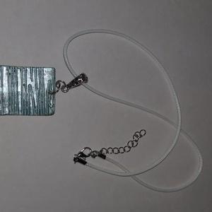 Téglalap alakú türkiz ,bronz  medálos nyaklánc, Ékszer, Ékszerszett, Téglalap alakú türkiz,bronz  medálos nyaklánc.  Postázása egyedi megbeszélés alapján. , Meska