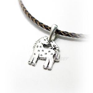 Ló - madár barátság, Ékszer, Nyaklánc, Medál, Ötvös, 925-ös ezüst medál (csak medál)\nsúlya: 3,2 g\nszélessége: 17 mm\nmagassága: 19 mm\n, Meska