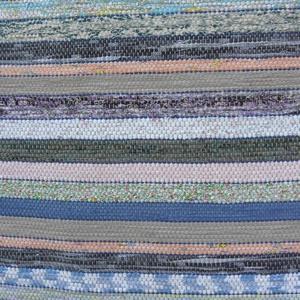 Sok-sok csíkos, hosszabb., Szőnyeg, Lakástextil, Otthon & Lakás, Szövés, Kézi szövéssel készítettem ezt a rongyszőnyeget.\nTöbbféle színes és  egyszínű anyagot \nösszeválogatt..., Meska